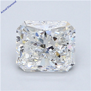 Radiant Cut Loose Diamond (1.52 Ct,F Color,Si1 Clarity) Gia Certified