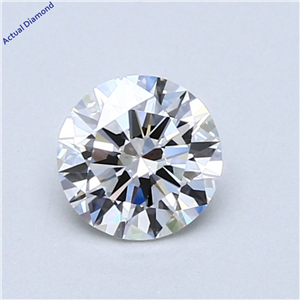 Round Cut Loose Diamond (0.7 Ct,G Color,Vs1 Clarity) Gia Certified