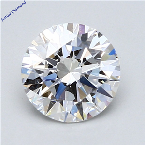 Round Cut Loose Diamond (1.4 Ct,D Color,Vs2 Clarity) Gia Certified