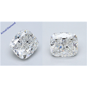 A Pair Of Cushion Cut Loose Diamonds (3.41 Ct,F Color,Vs1 Clarity) Gia Certified
