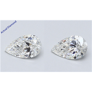 A Pair Of Pear Cut Loose Diamonds (1.62 Ct,F Color,Vs1 Clarity) Gia Certified
