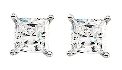 Diamond Stud Earrings 14k (0.56 Ct, H-I Color, I1-I2 Clarity)