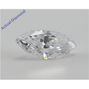 Marquise Cut Loose Diamond (1.08 Ct, D, SI1) IGL Certified