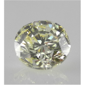 Round Cut Loose Diamond (1.01 Ct, Natural Fancy Yellow, VVS2) IGL Certified
