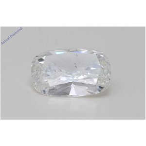 Cushion Cut Loose Diamond (1.07 Ct,H Color,I1 Clarity) Gia Certified