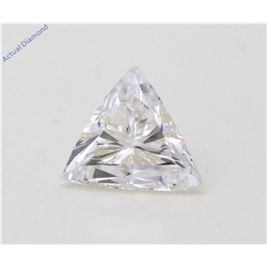 Triangle Cut Loose Diamond (1.44 Ct,F Color,Si2 Clarity) Gia Certified