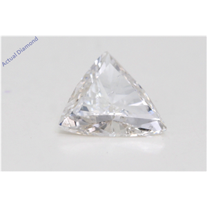 Triangle Cut Loose Diamond (1.01 Ct,H Color,Si2 Clarity) Gia Certified