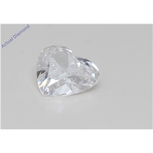 Heart Cut Loose Diamond (0.72 Ct,E Color,Vs2 Clarity) Gia Certified