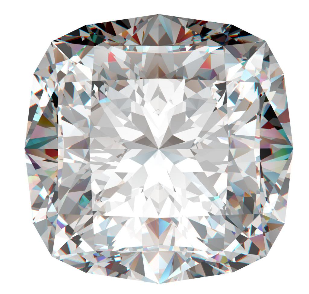 Cushion Cut Loose Diamond 1 1 Ct J Color Si1 Clarity