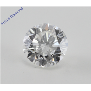 Round Cut Loose Diamond (1.01 Ct, G, VS2) EGL Certified