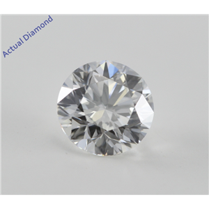 Round Cut Loose Diamond (1.01 Ct, G, VVS2) GIA Certified