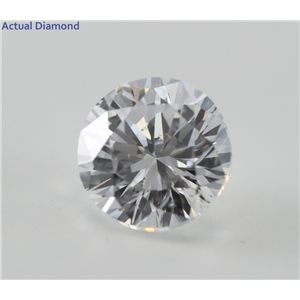 Round Cut Loose Diamond (1.51 Ct, E ,SI2) GIA Certified