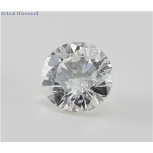 Round Cut Loose Diamond (4.03 Ct, G ,SI2) EGL Certified