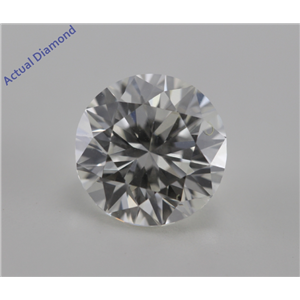 Round Cut Loose Diamond (2.03 Ct, J, VVS2) GIA Certified