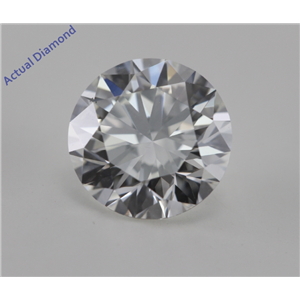 Round Cut Loose Diamond (2.08 Ct, I, VS1) GIA Certified