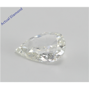 Pear Cut Loose Diamond (1.02 Ct, I, VS2) GIA Certified