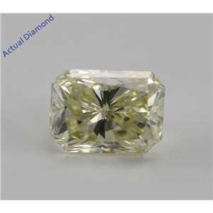 Radiant Cut Loose Diamond (0.94 Ct, Natural Fancy Yellow, VS1) IGL Certified