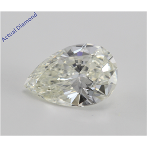 Pear Cut Loose Diamond (1.45 Ct, K, VVS2) GIA Certified