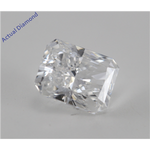 Radiant Cut Loose Diamond (0.66 Ct, E, VS1) GIA Certified