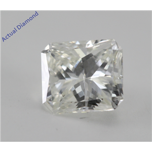 Radiant Cut Loose Diamond (0.66 Ct, J, VS1) GIA Certified