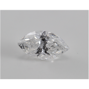 Marquise Cut Loose Diamond (0.98 Ct, E, I1) GIA Certified