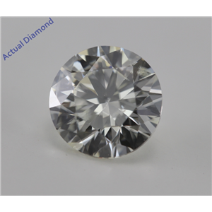 Round Cut Loose Diamond (2.1 Ct, H ,SI1) IGL Certified