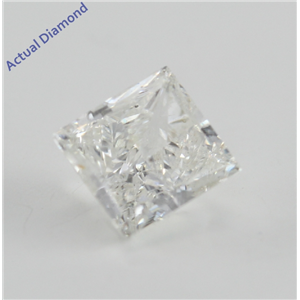 Princess Cut Loose Diamond (1 Ct, G, SI1(Clarity Enhanced)) IGL Certified