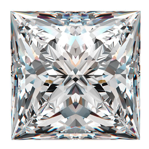 Princess Cut Loose Diamond (0.85 Ct, H ,SI1)