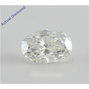 Oval Cut Loose Diamond (0.72 Ct, I, SI1)