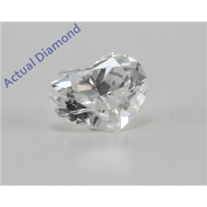 Heart Cut Loose Diamond (0.24 Ct, G Color, SI1 Clarity)