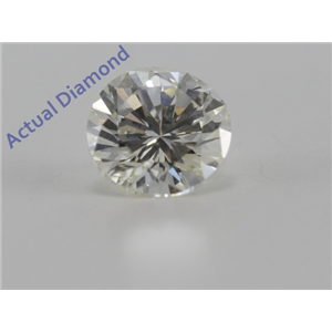 Round Cut Loose Diamond (0.49 Ct, K Color, VS2 Clarity)