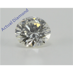 Round Cut Loose Diamond (0.31 Ct, K Color, VS1 Clarity)
