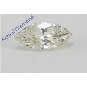 Marquise Cut Loose Diamond (0.28 Ct, K Color, SI2 Clarity)