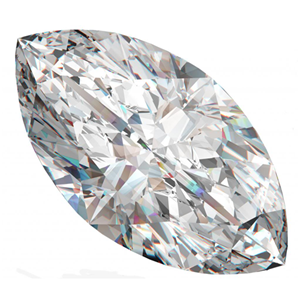 Marquise Cut Loose Diamond (0.73 Ct, D Color, I1 Clarity)