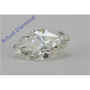 Marquise Cut Loose Diamond (0.29 Ct, K Color, VS2 Clarity)