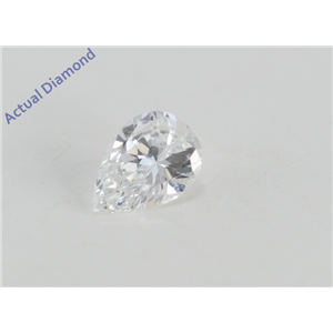 Pear Cut Loose Diamond (0.3 Ct, E Color, VVS1 Clarity) IGL Certified