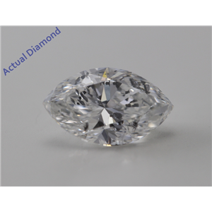 Marquise Cut Loose Diamond (1.26 Ct, D, SI2) IGL Certified