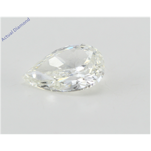 Pear Cut Loose Diamond (0.96 Ct, H Color, VS1 Clarity) IGL Certified