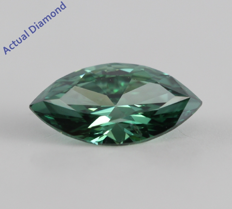 diamond cut approx blue green diamon ct brilliant irradiated ring cluster diamonds round image