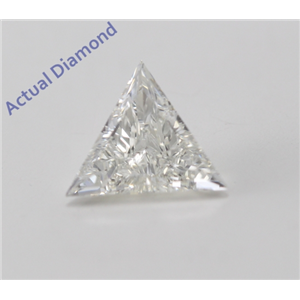 Triangle Cut Loose Diamond (0.59 Ct, I Color, VS2 Clarity)