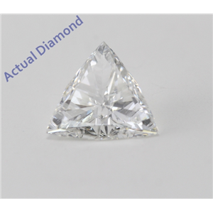 Triangle Cut Loose Diamond (0.54 Ct, H Color, SI1 Clarity)