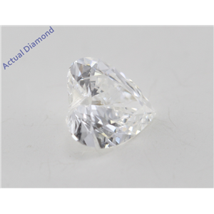Heart Cut Loose Diamond (0.48 Ct, H Color, VS1 Clarity) GIA Certified