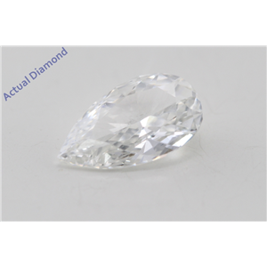 Pear Cut Loose Diamond (0.73 Ct, G Color, VVS1 Clarity) GIA Certified