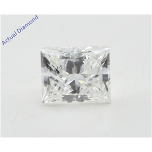 Princess Cut Loose Diamond (0.59 Ct, G Color, VS1 Clarity) GIA Certified