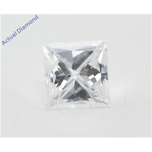 Princess Cut Loose Diamond (0.54 Ct, D Color, VS1 Clarity) GIA Certified