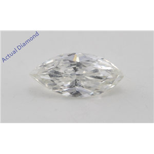 Marquise Cut Loose Diamond (0.7 Ct, I Color, VS2 Clarity) GIA Certified