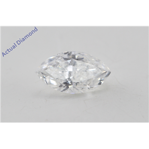 Marquise Cut Loose Diamond (0.46 Ct, E Color, SI1 Clarity) GIA Certified