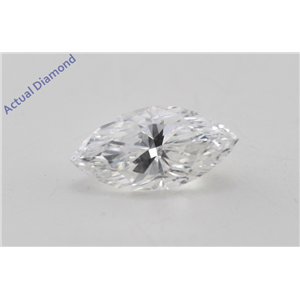 Marquise Cut Loose Diamond (0.44 Ct, F Color, SI1 Clarity) GIA Certified