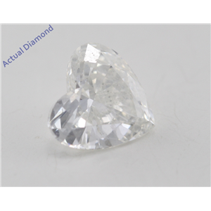 Heart Cut Loose Diamond (0.7 Ct, H Color, SI2 Clarity) GIA Certified