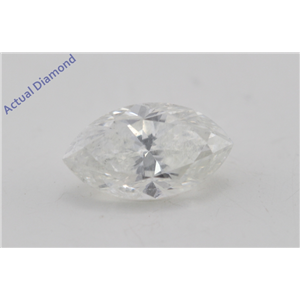 Marquise Cut Loose Diamond (1.09 Ct, I Color, I1 Clarity) GIA Certified